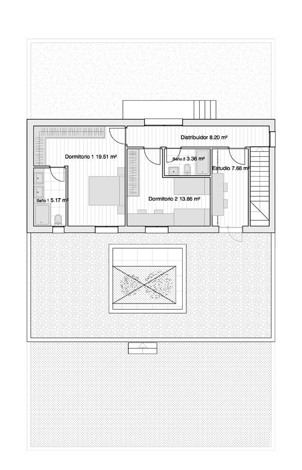 Baños Con Vestidor Incluido: con vestidor, uno de ellos con baño y vestidor independiente y otro