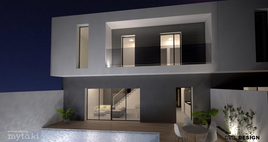 Casas de Diseño – Casa en la Vega 180