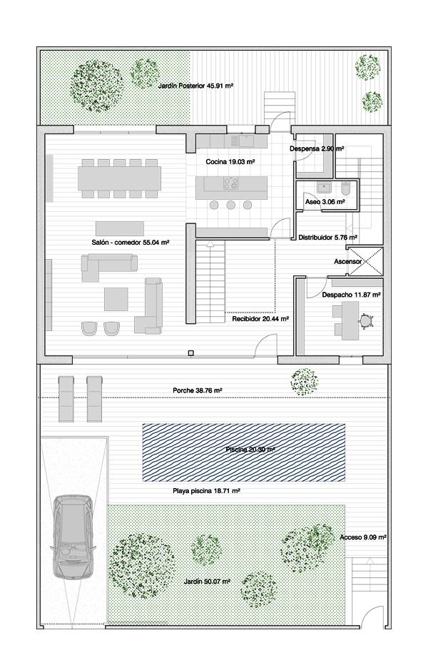 Baños Con Vestidor Incluido:dobles, un dormitorio de invitados, dormitorio principal con vestidor