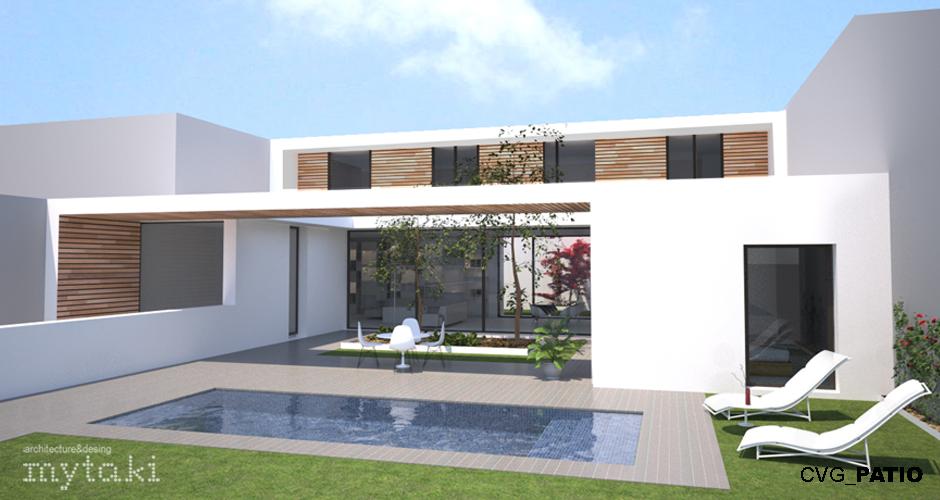 Casas de diseo moderno fabulous fabulous salones diseno for Casas modernas granada